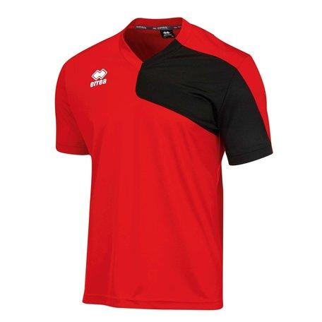 Marcus shirt rood/zwart diverse maten