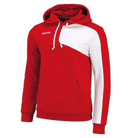 Malik hooded Sweater rood maat XXL