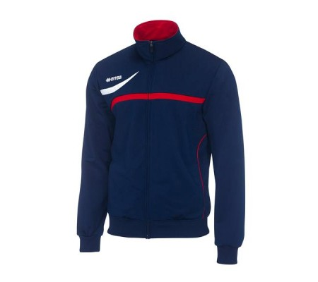 Canyon trainingsjack navy-rood maat L