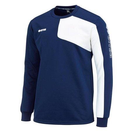 Mavery warming-up sweater navy.  maat XXL