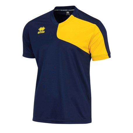 Marcus shirt navy/geel