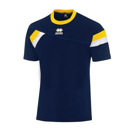 Falkland shirt navy/geel maat S